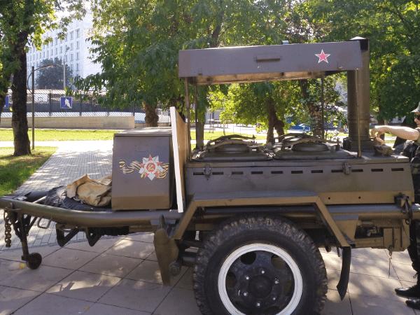 Военно полевая кухня на мероприятия