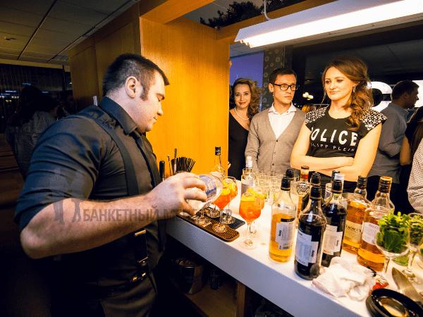 Выездной бар в Москве