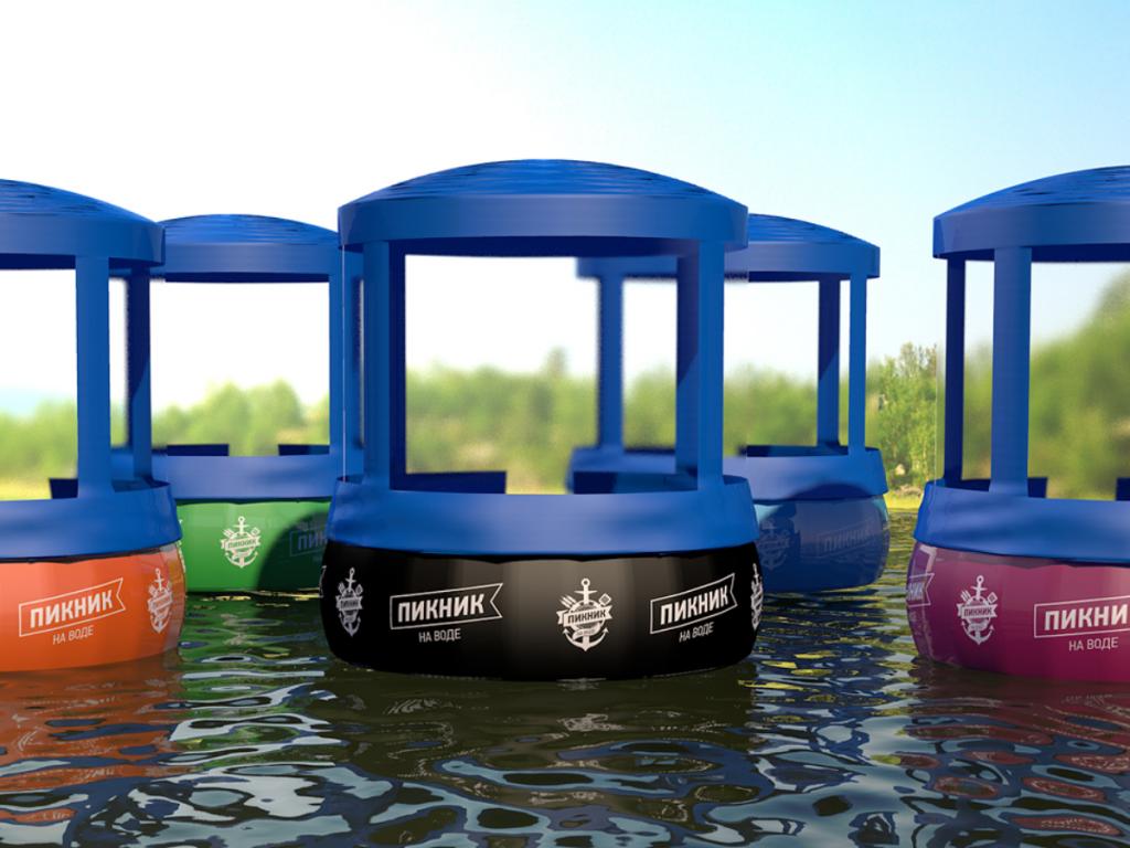Пикник на воде, интересный проект по доступной цене