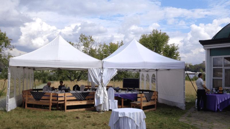 Заказать шатры на второй день свадьбы