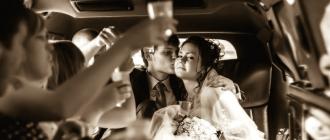 Выездная свадьба закуски в автомобиль