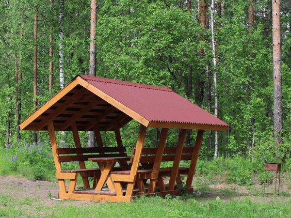 Беседки бесплатно в парках Москвы